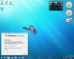 Windows 7 RC Desctop